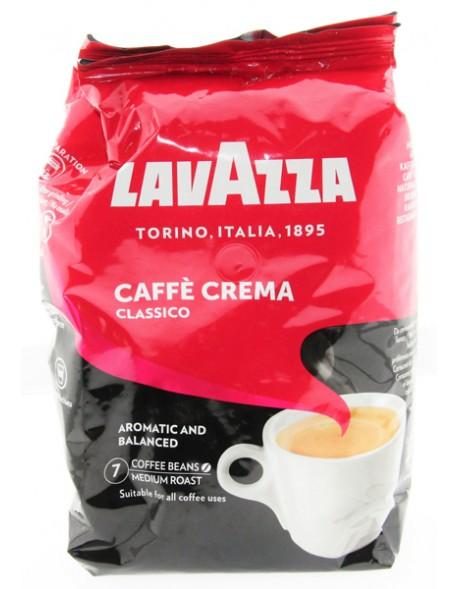Kawa ziarno Lavazza CaffeCrema Classico 1kg