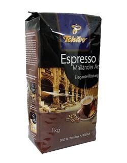Kawa ziarno Tchibo Espresso Mailander Art 1kg