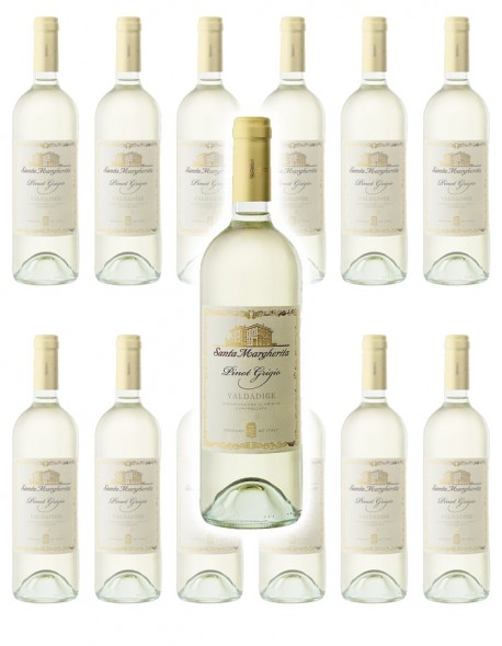 Zestaw 12 win Santa Margherita Pinot Grigio