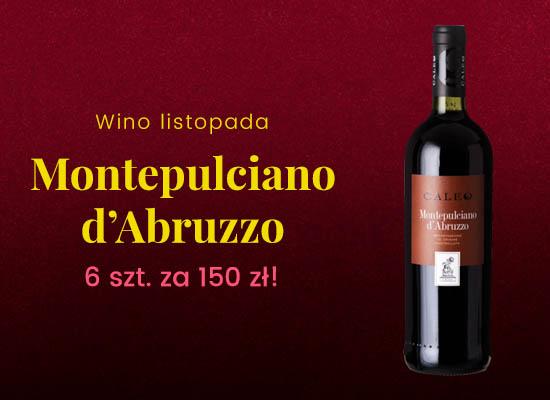 Montepulciano d'Abruzzo - 6 szt. za 150 zł