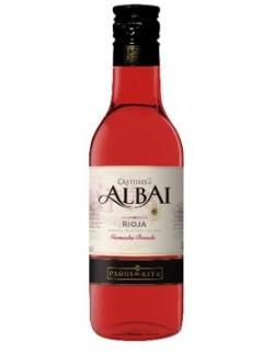 Castillo de Albali 0,187L różowe