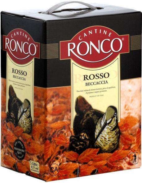 Zestaw 7 kartonów Beccaccia Rosso