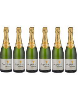 Appalina Sparkling Chardonnay zestaw 6 win