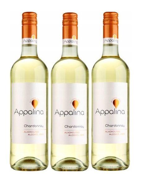 Appalina Chardonnay zestaw 3 win