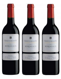 Bordeaux Grande Reserve Kressmann Rogue zestaw 3 win