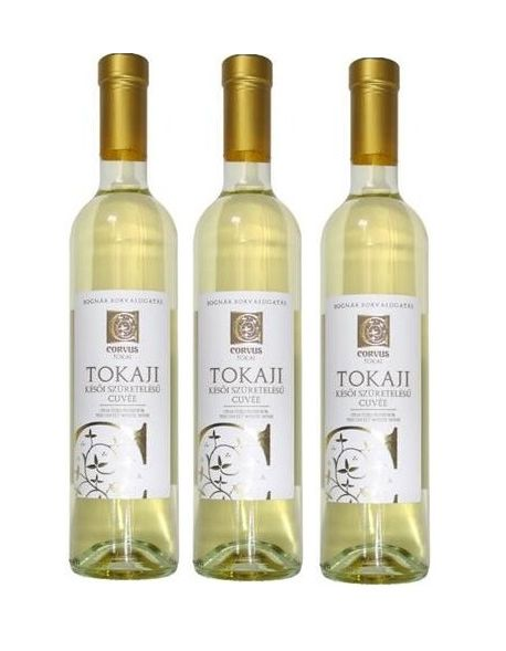 Tokaji Corvus Sweet Late Harvest zestaw 3 win