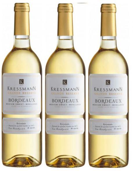 Bordeaux Grande Reserve Moelleux zestaw 3 win