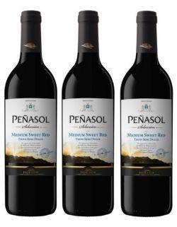 Penasol Red Medium-Sweet zestaw 3 win