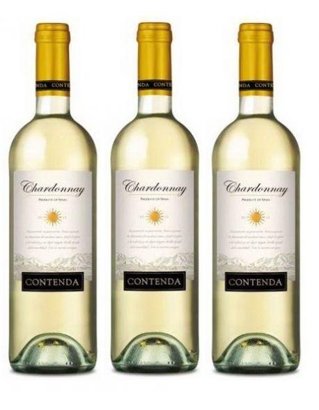 Contenda Chardonnay zestaw 3 win