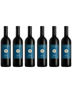 Santa Libera Medium-Dry Rosso zestaw 6 win
